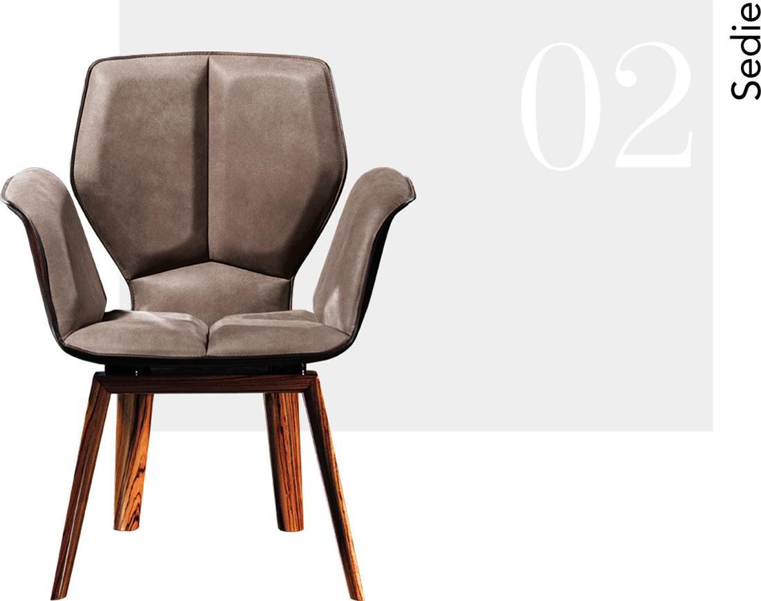 Fasem: tavoli, sedute, complementi in cuoio e pelle con struttura ...